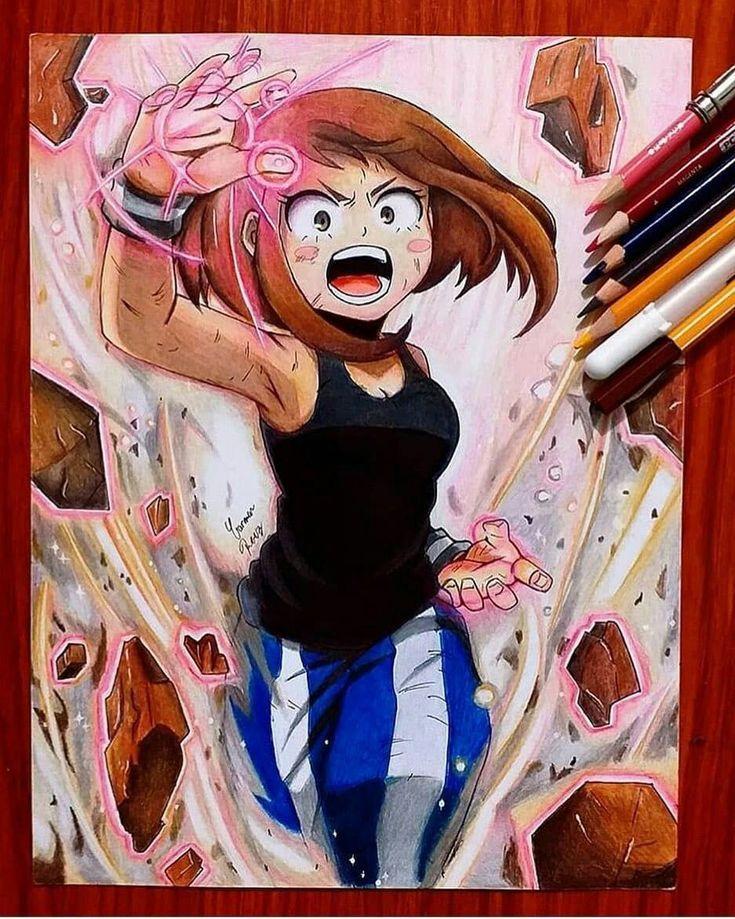 Mha actor au eri in 2020 anime character drawing anime