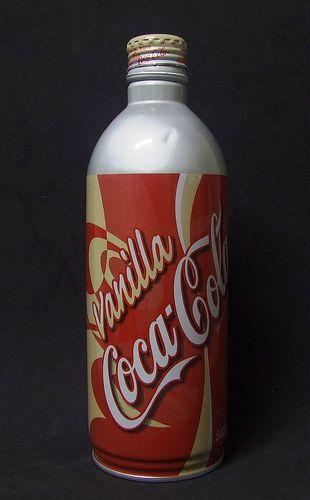 Vanilla Coca Cola - Japan