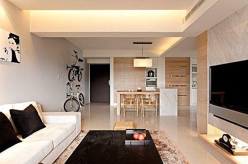 Apartamento minimalista/Minimalist apartment