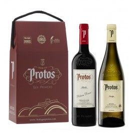 Protos Roble + Protos Verdejo estuche de 2 botellas