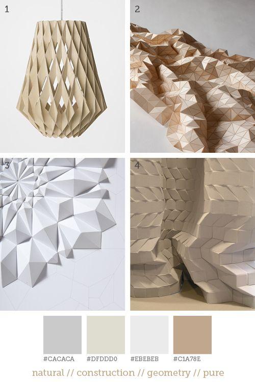 kindofstyle:    1. Showroom Finland // 2. Elisa Strozyk // 3. Matthew Shlian // 4. Anique Noordman