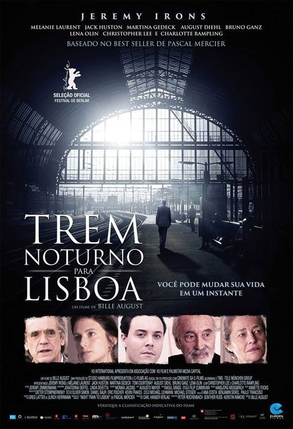 """Trem Noturno Para Lisboa"" (Night Train To Lisbon - 2013)"
