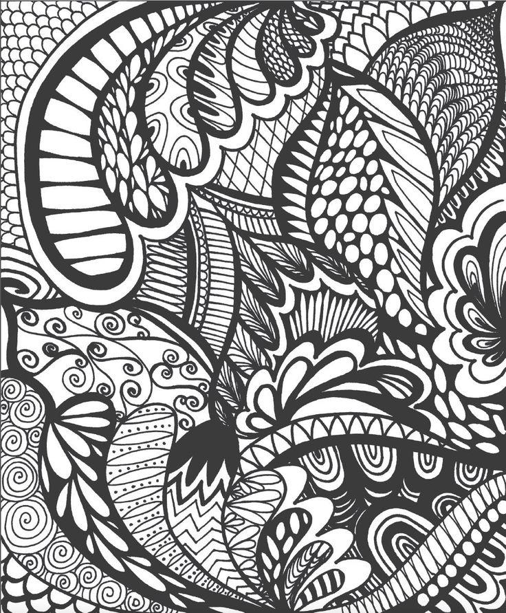 ColorIt Adult Coloring Book Calming Doodles Volume 1