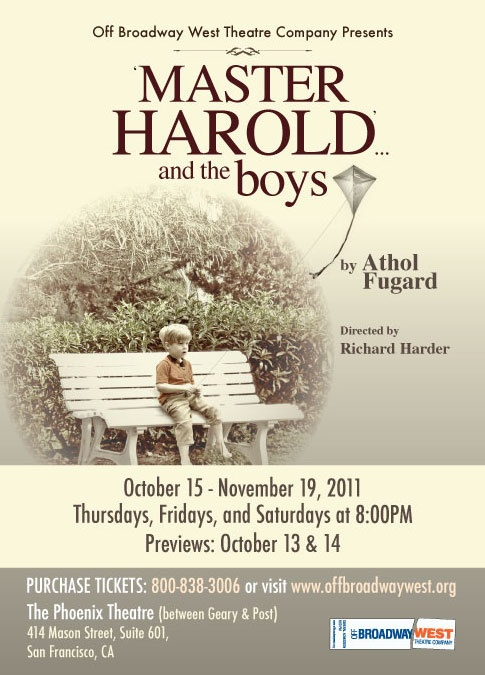 """Master Harold and the Boys by Athol Fugard.   Harold: """"Sam, do you want to see South Africa?""""  Sam:""""Sure man, I wanted to see South Africa.""""  """"And there it was, you had done your first map for homework. And it was beautiful. Your South Africa was really beautiful Harry."""""""