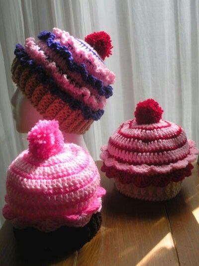 crochet cupcake hat instructions