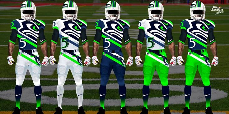 Seattle Seahawks Uniform Color | NFL uniform concept designs for 2014 are not for traditionalists