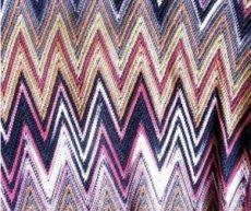 Узор миссони спицами схема и пример вязания (фото и видео)