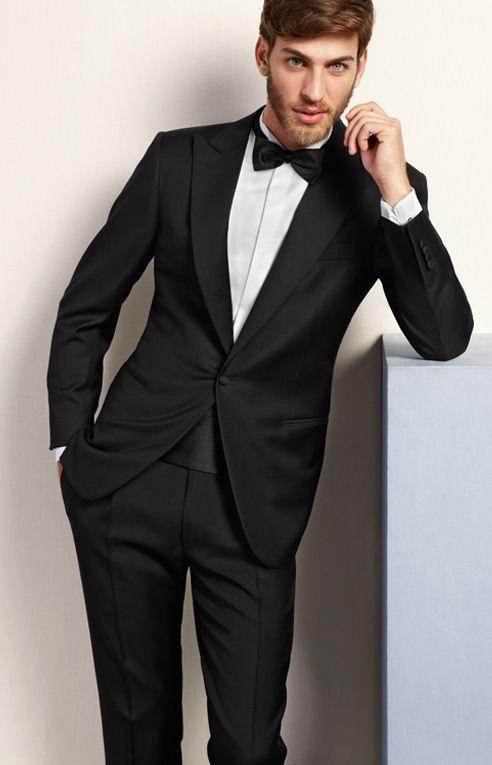 Black Tie / Veste / Ceinture / Noeud pap' / Pantalon