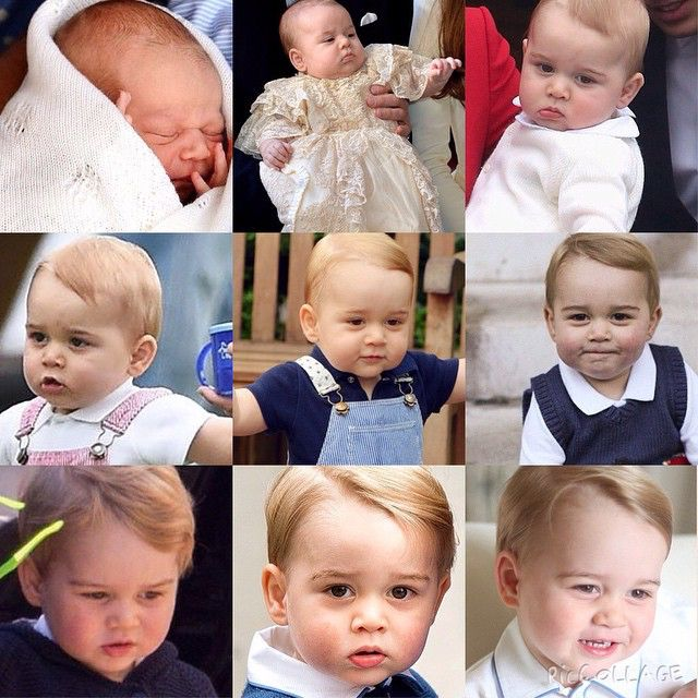 George from Birth until now June 2015