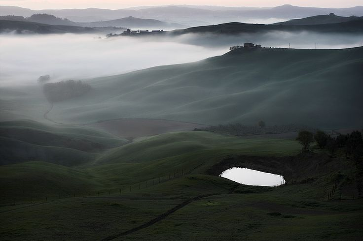 Tuscany Fields on Behance