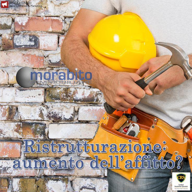 I #lavori di #ristrutturazione di una #casa in #affitto possono generare un aumento del #canone di #locazione? Ve lo spieghiamo qui >> http://www.short80.it/mor-ris - Resta aggiornato: www.morabitoimmobiliare.it/blog #affitti #lavoridiristrutturazione #ristrutturazioneappartamenti #padronedicasa #sicurezza #impianti #appartamenti