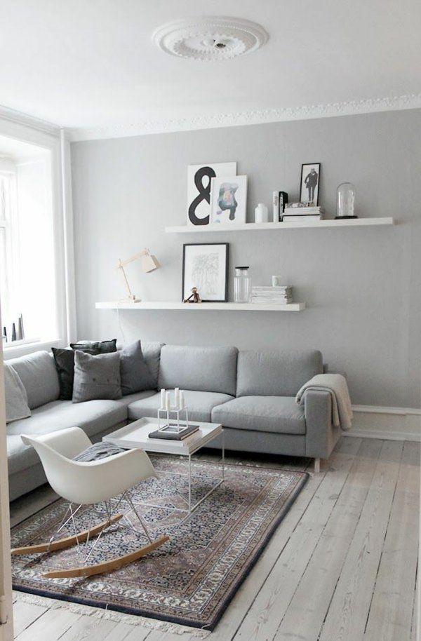 Farbgestaltung im Wohnzimmer: Wandfarben auswählen und gekonnt mischen – Ann