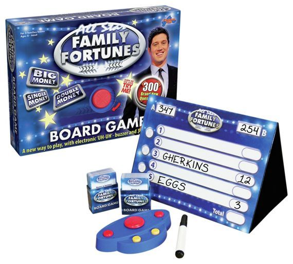 Buy Family Fortunes Board Game at Argos.co.uk - Your Online Shop for Games and board games, Games and puzzles, Toys.