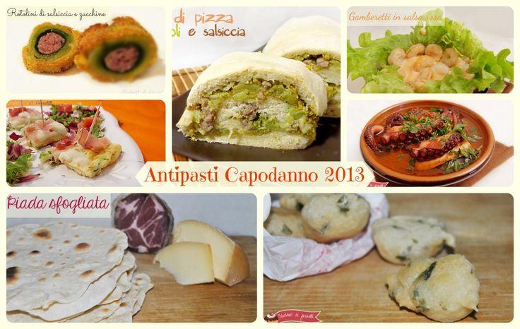 Antipasti per Capodanno 2013 ricette sfiziose