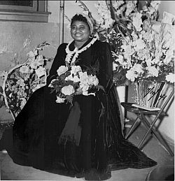 Hattie McDaniel- first black actor to win an Academy Award.  It was for Gone With the Wind.