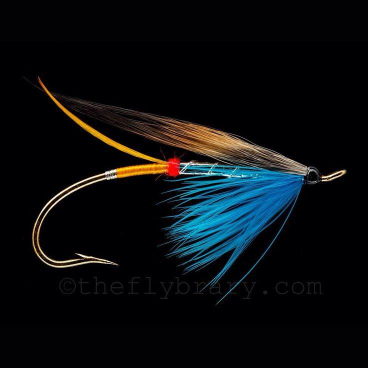 Silver doctor tied by warren duncan art watkins fly for Fly fishing tying