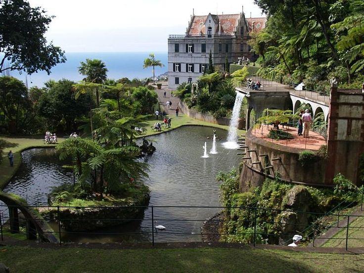 Ideal Monte Palace tropischer Garten gilt als der sch nste botanische Garten Madeiras Eintritt uac p P Botanische G rten Parks u