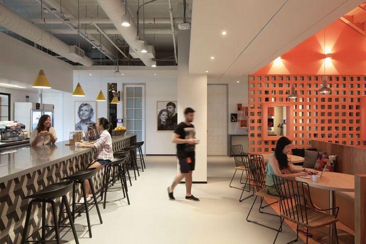 Best 1353 modern office architecture interior design for Corporate interior design singapore