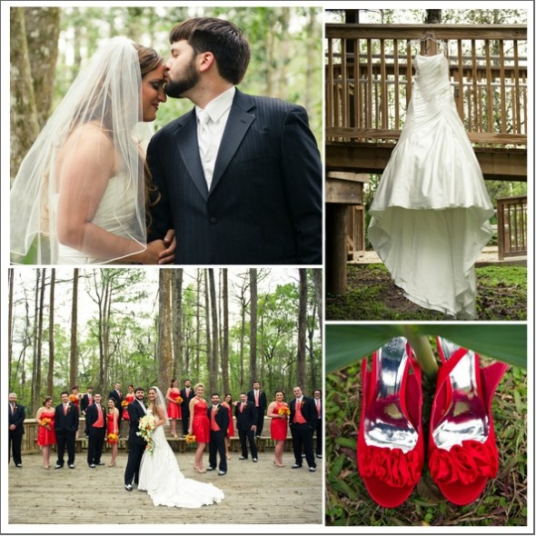 Rustic~Red Wedding Theme