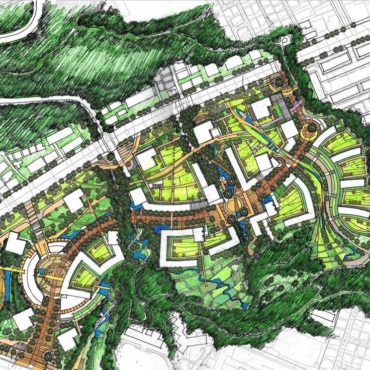 그려...좀더과감햇어야햇어... Yes 뽀샵따위에 의지하다니... Bs #Environmental #Design #Group #LandscapeArchitecture & #Associates #sketch #drawing #plan #note #conceptplan