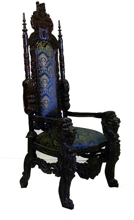 I want this Chair.  Hell, I want a set of 8 and the dining table that goes with them!