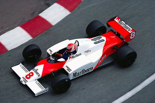 Niki Lauda  McLaren - Ford 1983