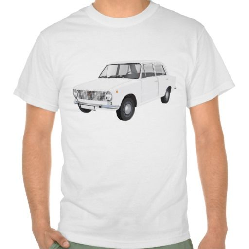 FIAT 124 Berlina white  #fiat124 #60s #automobile #automobiles #tshirt #tshirts #car #italy #italia