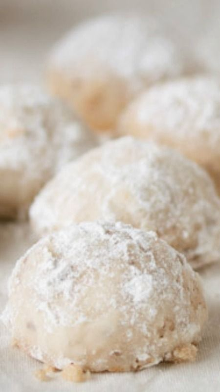 Mexican Wedding Cookies ~ These nutty, buttery, melt-in-your-mouth cookies are always a guaranteed crowd pleaser.