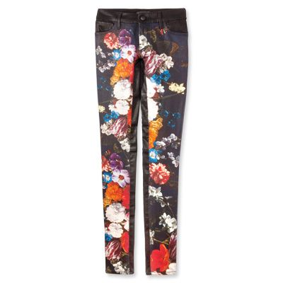 Gifts for Babies, Kids, Tweens, and Teens - Floral denim jeans from #InStyle