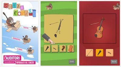 Setze cordes. App's per a nens. #sortirambnens