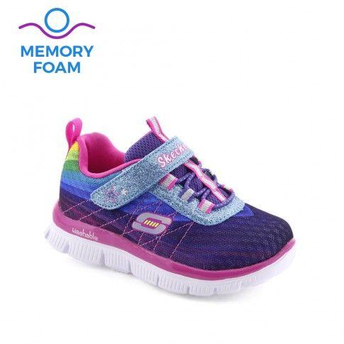 Pantofi sport fete Skech Perfect Multi - Skechers