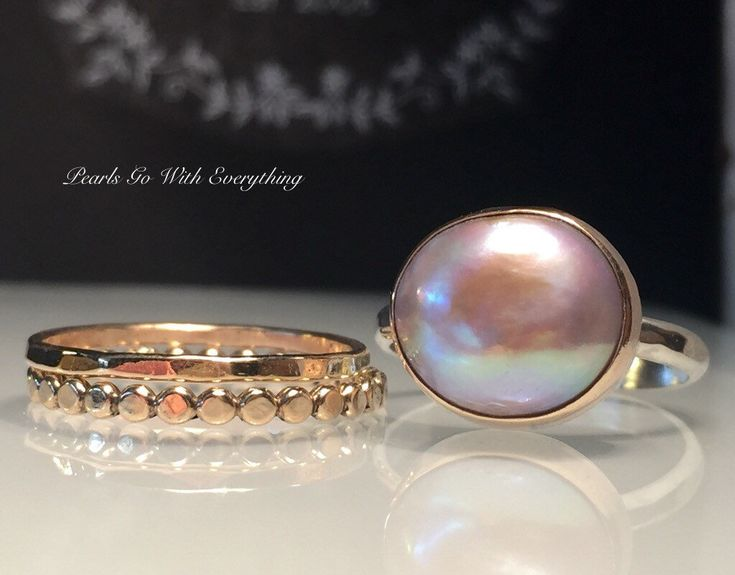 Excited to share the latest addition to my #etsy shop: Pearl Ring/Blush Gold Pearl Ring/Pink Pearl Ring/Solitare Pearl Ring/ Pearl Statement Ring./Baroque Pearl Ring/June Birthstone/Free US Ship. #jewelry #ring #pink #rosegold #girls #silver #pearl