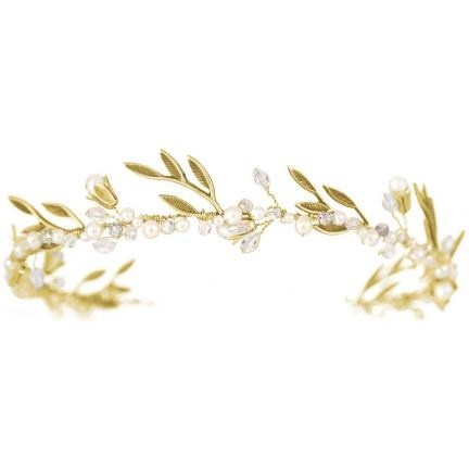 An interesting take on the laurel crown. Great for Roman and Greek themed weddings.