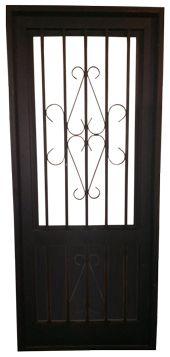 Las 25 mejores ideas sobre puertas met licas en pinterest for Estilos de puertas metalicas