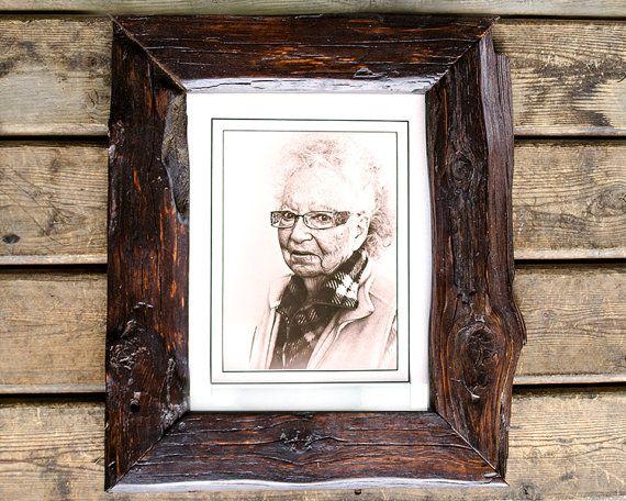 11x14 reclaimed wood frame by httpswwwetsycomshop