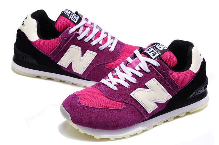 842b41b041b51 New Balance 574 x Concept Northern Lights Pack Pink Red White women NB Shoes
