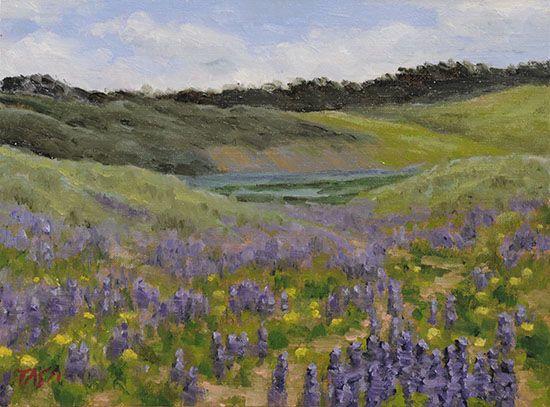 Purple Meadow www.dennistasa.com