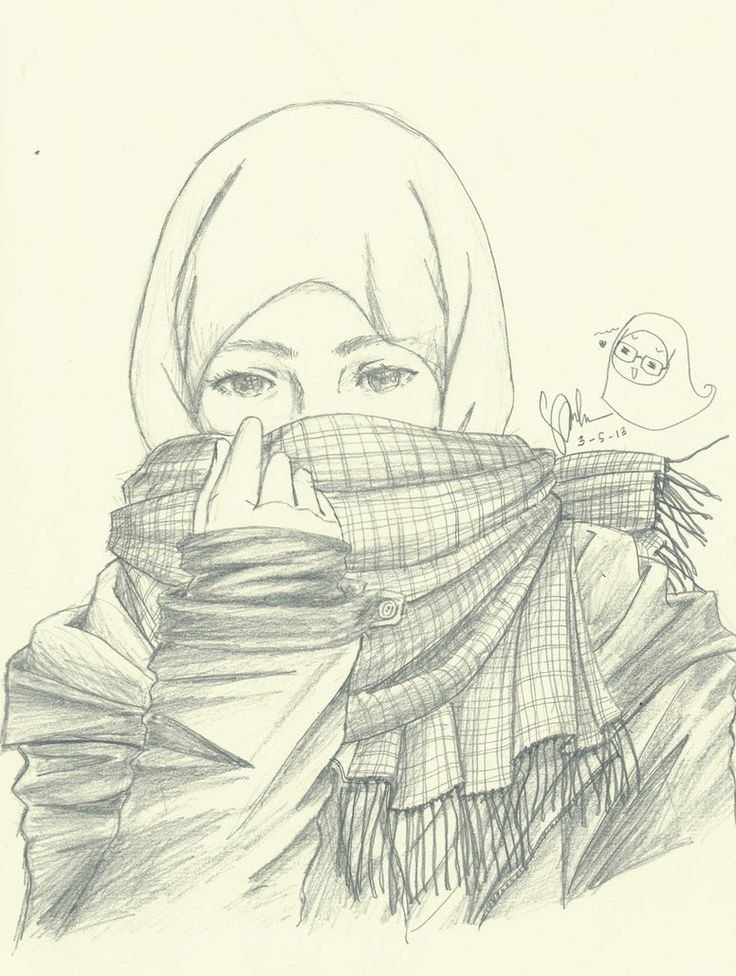 Hijab girl manga google search · clothing sketchespencil