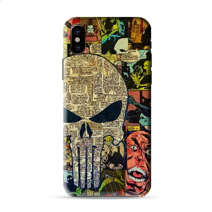Punisher Comic Iphone X 3D Case Caseperson