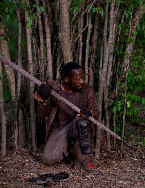 The Walking Dead — #morgan jones