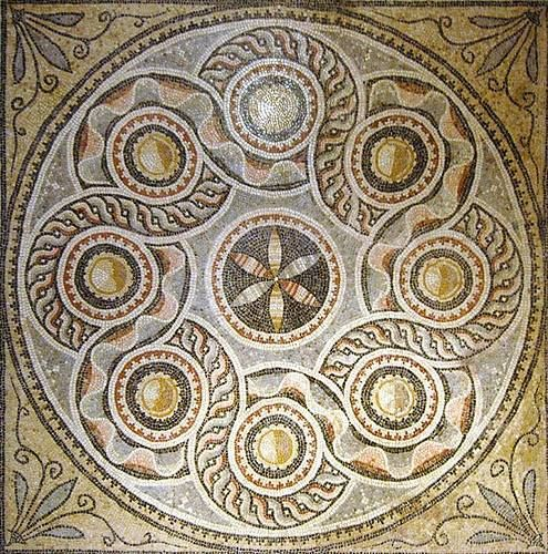 mosaic from Zeugma, Turkey. Zeugma was founded by one of Alexander the Great's generals, Seleucia Nicator, and prospered under later Roman rule.