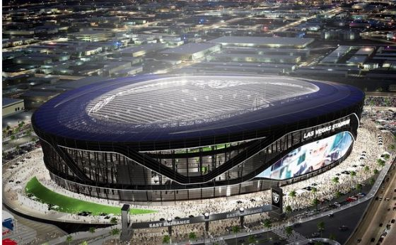 LOOK: Raiders release designs for new Las Vegas stadium = The Oakland Raiders have wasted no time this week after hearing they received league approval to relocate to Las Vegas, Nevada. On Wednesday, they began accepting deposits for season tickets during their first season in their new Las Vegas stadium. On Friday, the team released pictures of the new building, in…..