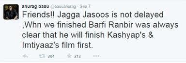 Anurag Basu clears all the rumors regarding Jagga Jasoos, director anurag basu, jagga jasoos, ranbir kapoor, katrina kaif, jagga jasoos movie, jagga jasoos starcast, jagga jasoos movie details #jaggajasoos #anuragbasu #ranbirkapoor #katrinakaif