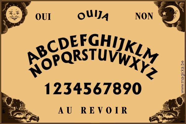 http://www.google.fr planche de Ouija