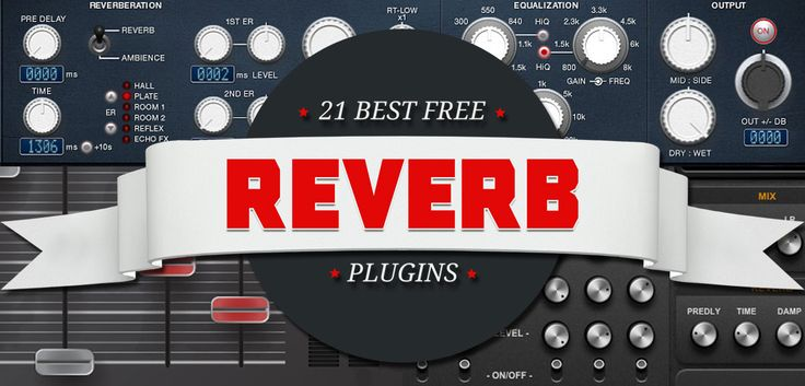 Our list contains 21 best free reverb VST plugins, including hall, room, plate, spring, gated, algorithmic and convolution reverbs. Only free and useful!