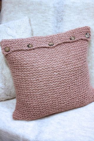 Pippi Pillow Strikkepakke   Alpaca Society