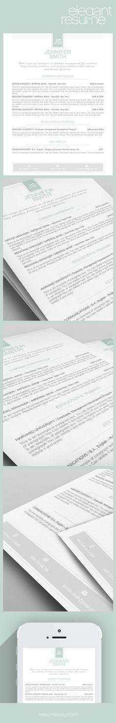 Ponad 25 najpopularniejszych i najlepszych pomysłów na Pintereście - apple pages resume templates
