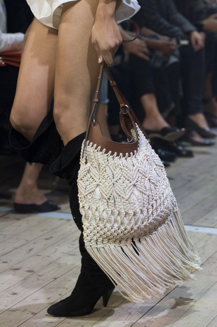 Fashion designers #fashion fashion show 2019, fashion show 2020, 2021 fashion show, fashion show collection 2020, fashion sh… in 2020 | Macrame bag, Macrame purse, Macrame