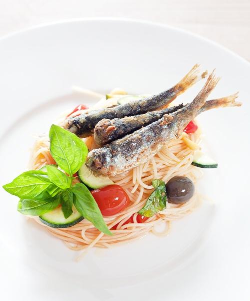 Mediterranean Spaghetti | Noodles | Pinterest
