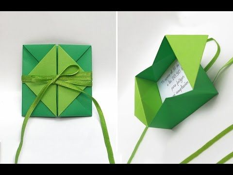 ▶ Rich and easy envelope. Great ideas for gift c…